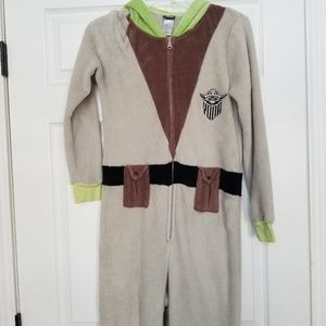 Star Wars Yoda full pajamas fuzzy 🎃